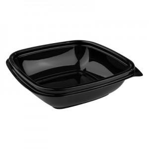 8oz / 250ml Black Square Bowl