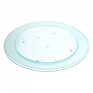 Small Round Glazz Plate 16cm
