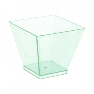 6cl Green Square Style Bowl